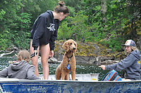 Perry, Eliza, Cedra and Olivia, Ross Lake National Recreation Area, North Cascades National Park, US