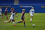 Liga IBERDROLA. Game 16.<br /> FC Barcelona vs UDG Tenerife Egatesa: 6-1.<br /> Silvia Doblado vs Mapi Leon.