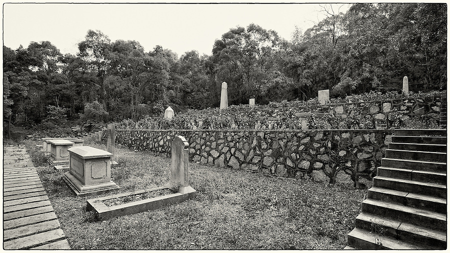 Foreign Cemetery, Formerly On Danes' Island But Relocated To French Island In The 1980's.  Guangzhou (Canton).