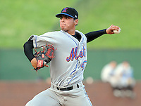 August 2, 2009: LHP Jhonathan Torres (47) of the Kingsport Mets, Appalachian League affiliate of the New York Mets, in a game at Pioneer Park in Greeneville, Tenn. Photo by: Tom Priddy/Four Seam Images