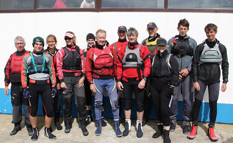 An annual contest since 1944, interrupted only by hurricane and plague…. Teams from the Royal Cork Yacht Club and Sutton Dinghy Club at one of the Sutton stagings of the team racing for The Book