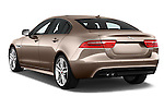 Car pictures of rear three quarter view of 2015 Jaguar XE R-Sport 4 Door Sedan Angular Rear