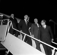 Robert Standfield<br /> en visite a Quebec, le 14 mai 1968<br /> <br /> PHOTO : Agence Quebec Presse<br /> - Photo Moderne