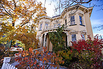 The historic Rinckel Mansion, home of the Nevada Press Association, in Carson City, Nev., on Saturday, Nov. 8, 2014.<br /> Photo by Cathleen Allison