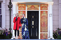 """Jenni Falconer and Edith Bowman<br /> arriving for the """"Mary Poppins Returns"""" premiere at the Royal Albert Hall, London<br /> <br /> ©Ash Knotek  D3467  12/12/2018"""