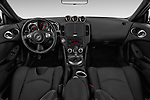 Stock photo of straight dashboard view of 2020 Nissan 370Z-Coupe 7A/T 0 Door Coupe Dashboard
