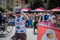 Domenico Pozzovivo (ITA/AG2R-La Mondiale) at the start<br /> <br /> Stage 17: Tirano › Canaze (219km)<br /> 100th Giro d'Italia 2017