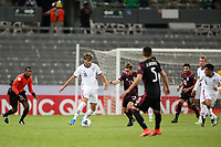 GUADALAJARA, MEXICO - MARCH 24: James Marcinkowski #1 of the United States during a game between Mexico and USMNT U-23 at Estadio Jalisco on March 24, 2021 in Guadalajara, Mexico.