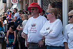 Royal Wedding of Prince Harry and Megham Markle, 19th May 2018. Windsor Berkshire. Couple up all night and still cant see, they were not happy with crowd controle.