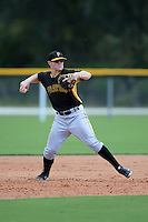 Pittsburgh Pirates third baseman Chase Simpson (22) during an Instructional League game against the Tampa Bay Rays on September 27, 2014 at the Charlotte Sports Park in Port Charlotte, Florida.  (Mike Janes/Four Seam Images)
