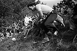 Cheese Rolling, Coopers Hill, Brockworth, Gloucestershire, England 1975.