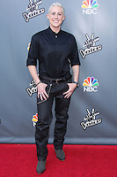 """UNIVERSAL CITY, CA, USA - APRIL 15: Kristen Merlin at NBC's """"The Voice"""" Season 6 Top 12 Red Carpet Event held at Universal CityWalk on April 15, 2014 in Universal City, California, United States. (Photo by Xavier Collin/Celebrity Monitor)"""
