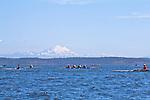 Port Townsend, Rat Island Regatta, rowers, Frank C, racing, Sound Rowers, Rat Island Rowing Club, Puget Sound, Olympic Peninsula, Washington State, water sports, rowing, kayaking, competition,