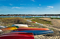 Wellfleet harbor, Cape Cod, MA, USA