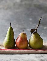 Gastronomie Générale: Poire Wiliams, Poire Conférence et Poire Comice