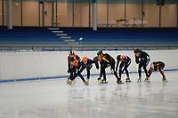 SCHAATSEN: HEERENVEEN: 03-10-2018 IJsstadion Thialf, ©foto Martin de Jong