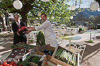 Europe/Europe/France/Midi-Pyrénées/46/Lot/Lacave: Restaurant: Le Pont de l'Ouysse  - Mathieu et Stéphane Chambon [Non destiné à un usage publicitaire - Not intended for an advertising use]