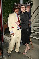 Clinton H. Wallace and Claudia Lari<br />at the VIP Screening of 'Machete Joe'. Paramount Studios, Hollywood, CA. 01-30-09<br />Dave Edwards/DailyCeleb.com 818-249-4998