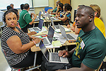 Teachers at Sharpstown High School, one of the campuses in the PowerUp pilot, received their laptops today! Students will get theirs in January.