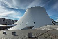 Europe/France/Normandie/76/Seine Maritime/  Le Havre: Le  Volcan, Espace culturel havrais , scène nationale, œuvre d'Oscar Niemeyer  //  Europe/France/Normandy/76/Seine Maritime/