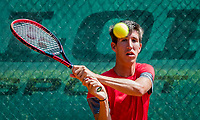 The Hague, Netherlands, 10 June, 2018, Tennis, Play-Offs Competition, Yannick Mertens (BEL)<br /> Photo: Henk Koster/tennisimages.com