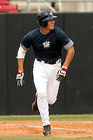 September 15, 2009:  Nick Delmonico, one of many top prospects in action, taking part in the 18U National Team Trials at NC State's Doak Field in Raleigh, NC.  Photo By David Stoner / Four Seam Images