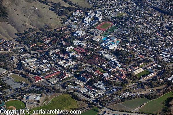 aerial photograph of California Polytechnic State University, San Luis Obispo, California