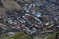 aerial photograph of California Polytechnic State University, San Luis Obispo, California