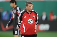 DC United Assistant Coach Chad Ashton.     DC United defeated The Columbus Crew  3-1 at the home season opener, at RFK Stadium, Saturday March 19, 2011.