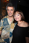 """***Exclusive Coverage***<br /> Backstage at """"LOOPED"""" starring Valerie Harper as Tallulah Bankhead at the Arena Stage - Ford Theatre  in Washington, D.C. June 12, 2009<br /> pictured: Valerie Harper & husband Tony Cacciotti (Producer)"""