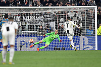 Cristiano Ronaldo of Juventus scores on penalty goal of 3-0 <br />  during the Uefa Champions League 2018/2019 round of 16 second leg football match between Juventus and Atletico Madrid at Juventus stadium, Turin, March, 12, 2019 <br />  Foto Andrea Staccioli / Insidefoto