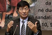20121025 ROMA-ESTERI: IL PRIMO MINISTRO TIBETANO IN ESILIO LOBSANG SANGAY IN ITALIA