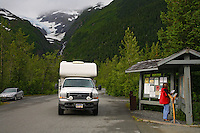 Williwaw Campground, Portage Valley, Chugach National Forest, Alaska.