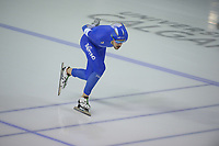 SPEEDSKATING: Calgary, The Olympic Oval, 08-02-2020, ISU World Cup Speed Skating, 5000m Men Division A, Davide Ghiotto (ITA), ©foto Martin de Jong
