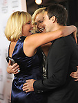 Gerda Theron,Charlize Theron & Stuart Townsend  at The 2009 AFI Fest Screening of The Road held at The Grauman's Chinese Theatre in Hollywood, California on November 04,2009                                                                   Copyright 2009 DVS / RockinExposures