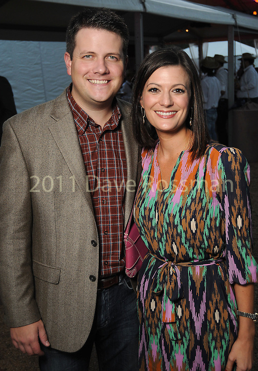 Jeanne-Marie and Frankie Savoy at the Nature Conservancy's Nature Rocks  Gala at the Houston Polo Club Thursday Oct. 22,2015.(Dave Rossman photo)