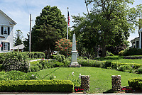 Civil War Memorial in the town of Chatham, Cape Cod, Massachusets, USA.