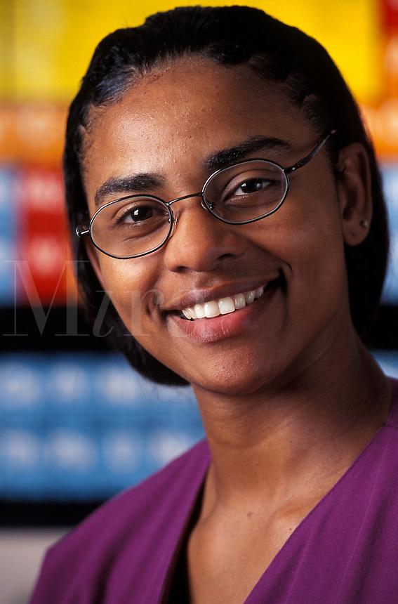 female lab technitian