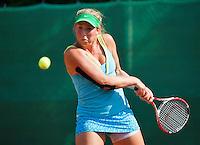 August 13, 2014, Netherlands, Raalte, TV Ramele, Tennis, National Championships, NRTK,  Nikki Luttikhuis (NED)<br /> Photo: Tennisimages/Henk Koster