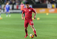 Carson, CA - Sunday January 28, 2018: Nick Lima, USMNT during an international friendly between the men's national teams of the United States (USA) and Bosnia and Herzegovina (BIH) at the StubHub Center.
