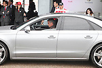 Real Madrid coach Jose Mourinho participates and receives new Audi during the presentation of Real Madrid's new cars made by Audi at the Jarama racetrack on November 8, 2012 in Madrid, Spain.(ALTERPHOTOS/Harry S. Stamper)