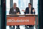 The president of Ciudadano, Albert Rivera, meets with the national executive of the party at the headquarters of the street Alcala in Madrid, February 23, 2016<br /> (ALTERPHOTOS/BorjaB.Hojas)