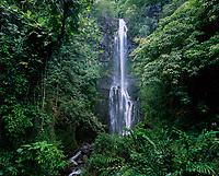 Wailua Falls, Hana, Maui, Hawaii, USA.