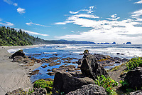 Shi Shi Beach at Olympic National Park, WA.
