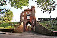 Quirky Victorian cemetery gatehouse with its own turret on the market for £350,000.