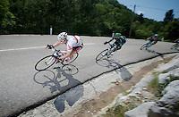 André Greipel (DEU) descending the Col de Macuègne (2nd Cat)<br /> <br /> Tour de France 2013<br /> stage 16: Vaison-la-Romaine to Gap, 168km