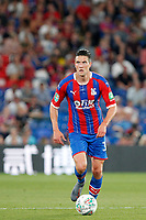 Martin Kelly of Crystal Palace during the Carabao Cup 2nd round match between Crystal Palace and Colchester United at Selhurst Park, London, England on 27 August 2019. Photo by Carlton Myrie / PRiME Media Images.