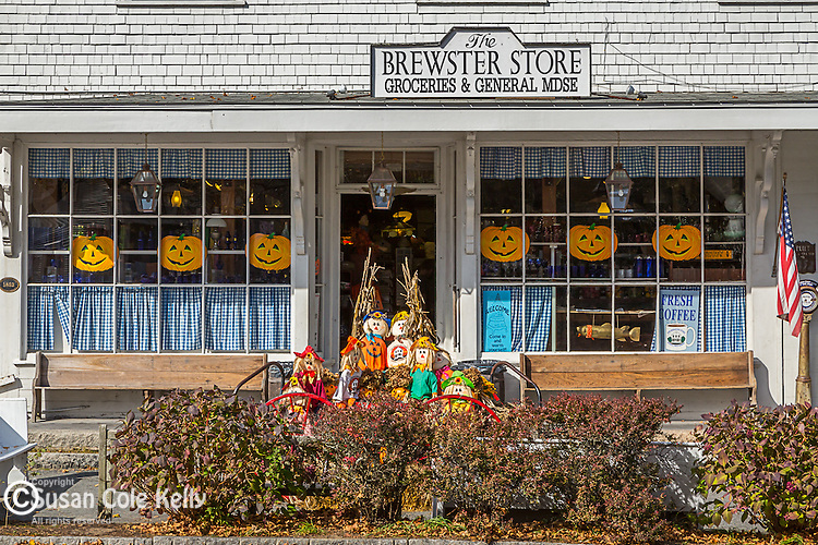 The Brewster Store in Brewster, Cape Cod, Massachusetts, USA