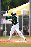 Farmingdale State Rams Brandon Ernest during a game against the U-Mass Boston Beacons at North Charlotte Regional Park on March 19, 2015 in Port Charlotte, Florida.  U-Mass Boston defeated Farmingdale 9-5.  (Mike Janes/Four Seam Images)