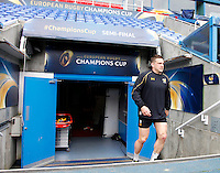 Photo: Richard Lane/Richard Lane Photography. Wasps Captains Run ahead of their game against Saracens in the European Champions Cup Semi Final at the Madejski Stadium. 22/04/2016. Jimmy Gopperth.
